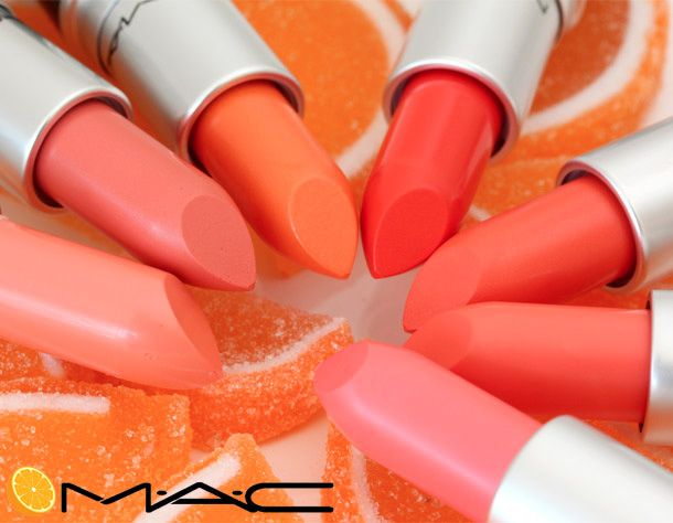 The New 100% Juicy MAC All About Orange Collection (Not From Concentrate)
