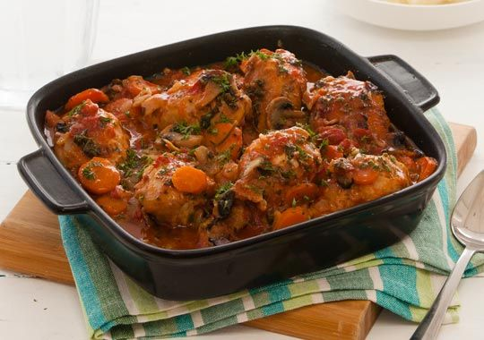Slow Cooked Country Chicken