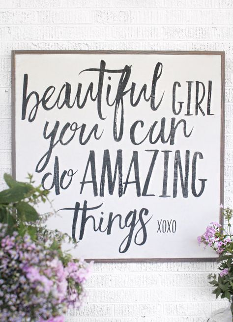 Love this little girls quote!