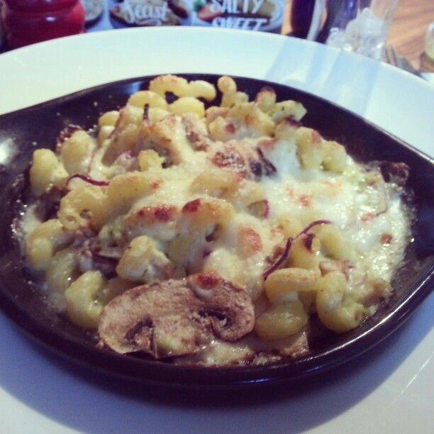 #Mushroom #Chicken #PastaBake