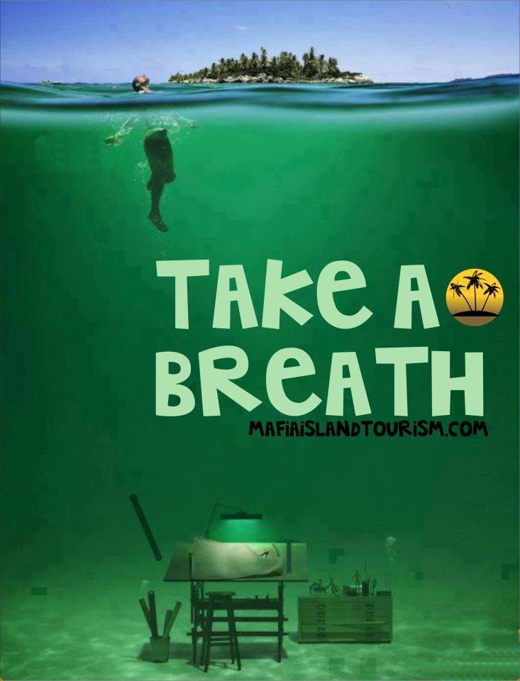 Take a Breath. Mafia Island, Tanzania (by terra)