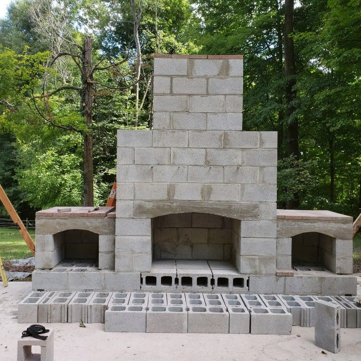 How To Build A Diy Outdoor Fireplace In 2021 Outdoor Fireplace Plans Diy Outdoor Fireplace Outdoor Fireplace Patio