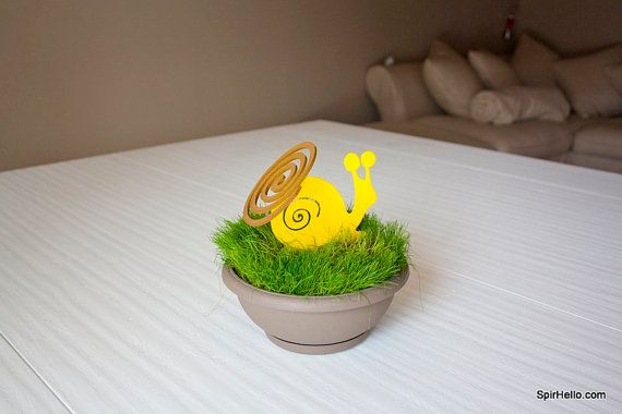 Snail mosquito coil holder