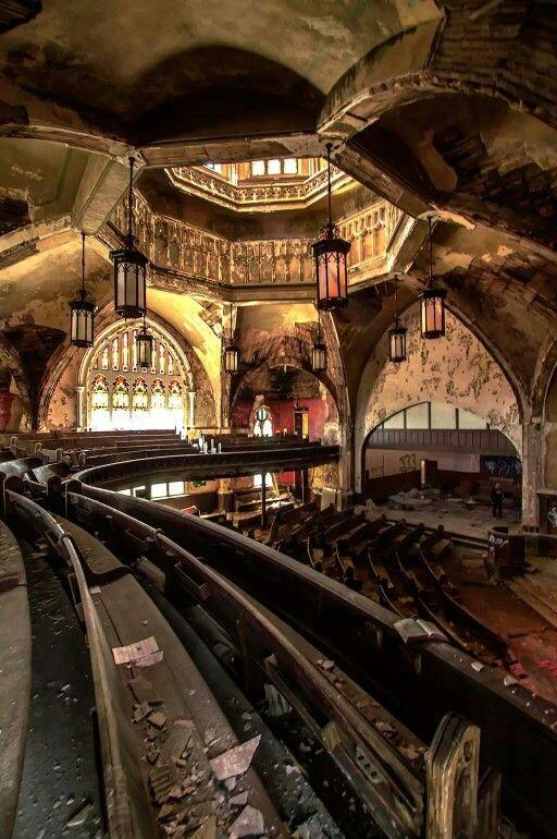 Abandoned church, Detroit Michigan
