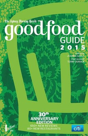 Sydney Morning Herald Good Food Guide 2015 winners