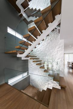 Geneva Home - Design First Interiors - contemporary - Staircase - Ottawa - Photolux Commercial Studio