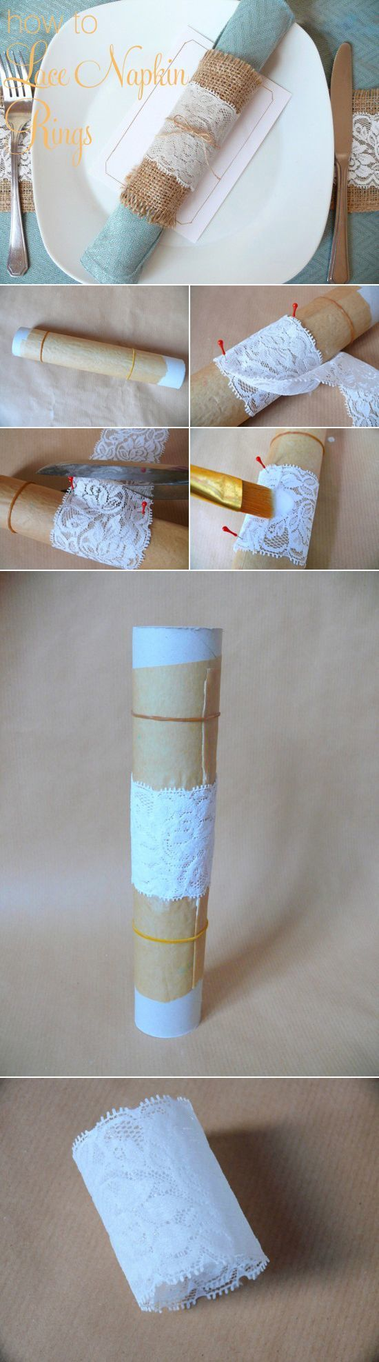 手作りも出来ちゃう♡おしゃれな『ナプキンリング』をDIY♩にて紹介している画像