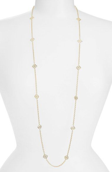 Kendra Scott 'Devalyn' Long Station Necklace available at #Nordstrom