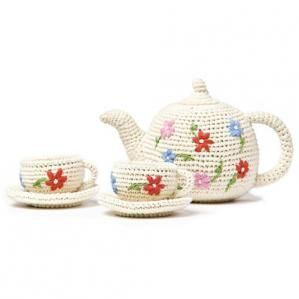 LittleChoux.com - Flower Tea Set