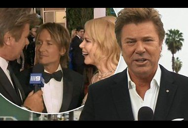 Richard Wilkins TEXTS Keith Urban and Nicole Kidman for an interview
