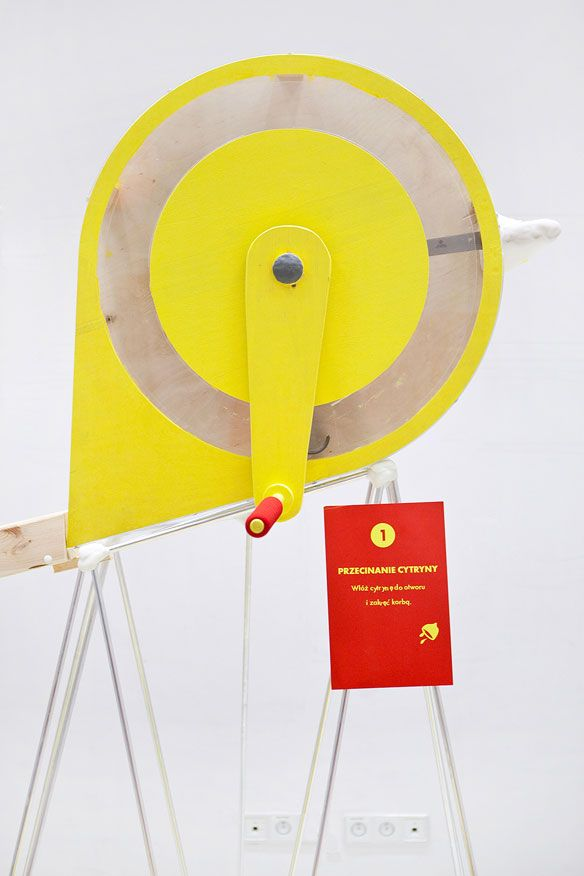 Lemonade Machine in Poland designed by James Shaw and Ola Mirecka