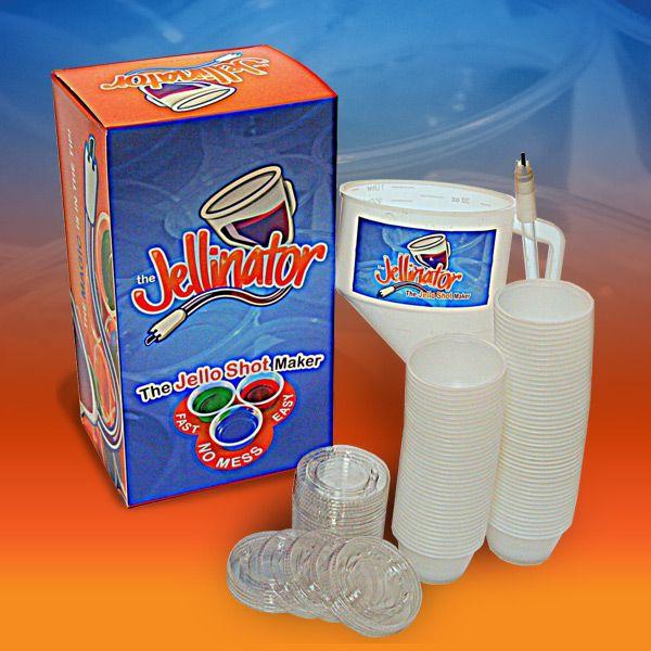 Jellinator Party PackJello Shots, Jello Shot Recipes, Jellin Parties, Fun Treats, Pudding Shots, Pack, Puddings Shots, Shots Maker, Shots Recipe