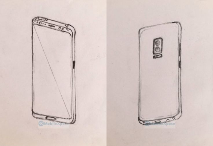 Leak: Galaxy Note 8 Sport A Dual Camera Setup In Sketches #Android #Google #news