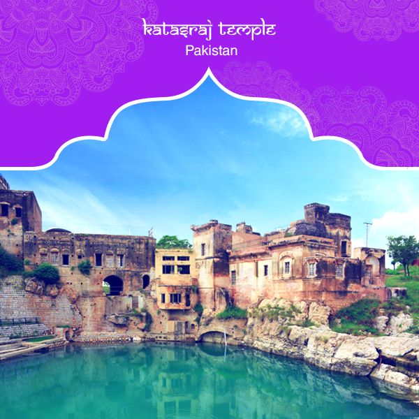 Dating back to the era before the Mahabharata is the Hindu temple dedicated to Lord Shiva in Chakwal, Pakistan. The temple, called Katasraj Temple, is associated with the belief that the Pandava brothers spent four years of their exile here. The temple has a holy pond which is believed to have been formed by the tears shed by Lord Shiva after the death of his wife, Sati. #PurePractices