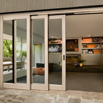 Contemporary Lift & Slide - lower level - Southland Windows, Inc.