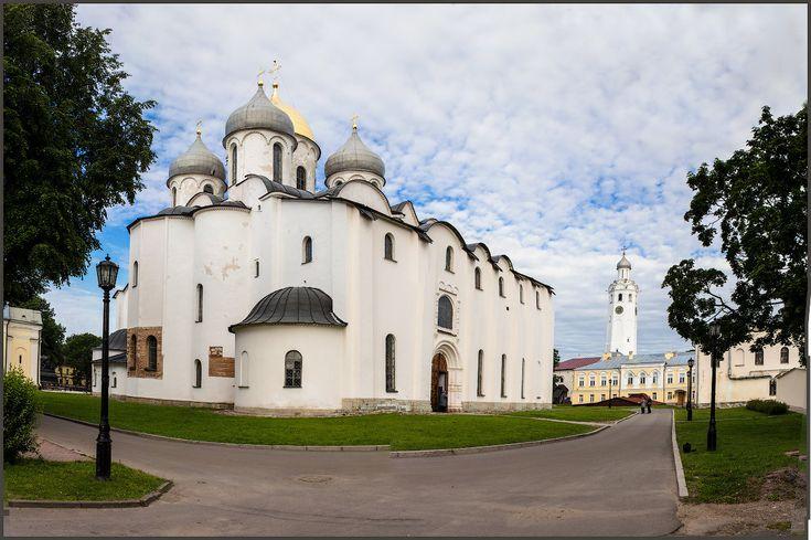 Великий Новгород. Софийский собор. - Евгений Никифоров