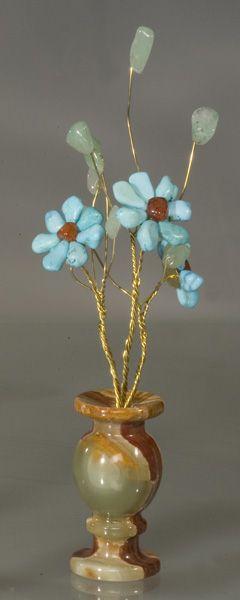 Цветы из камня - Лазурный