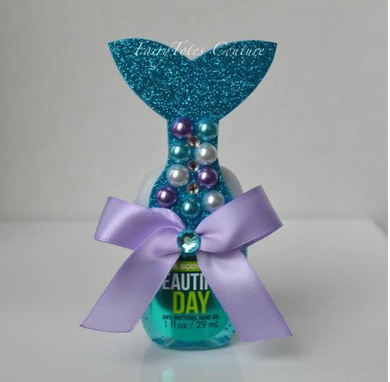 Mermaid Tail Hand Sanitizer Favors Mermaid Tail Favors Etsy En