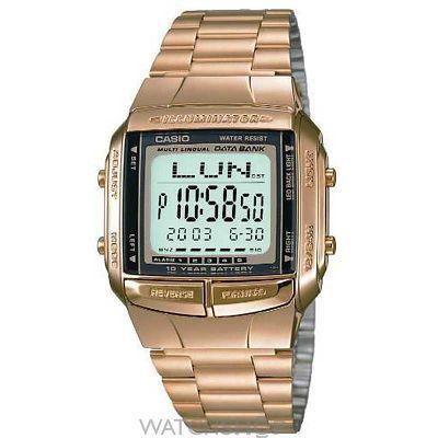 Unisex Casio Databank Alarm Chronograph Watch DB-360GN-9AEF