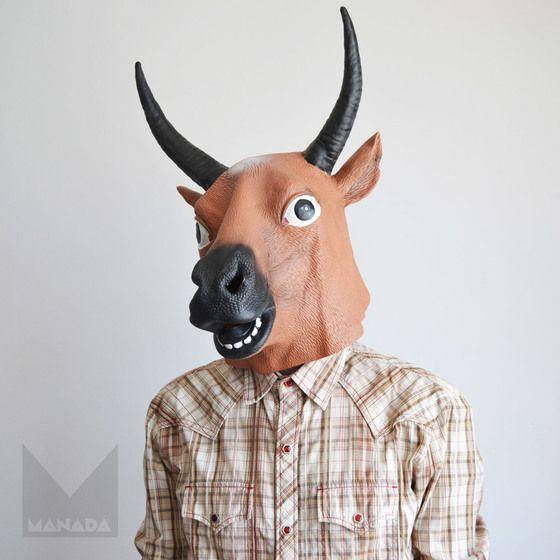 Máscara fiesta Buey