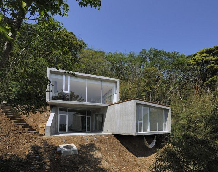43 best House on Slope images on Pinterest Architecture Homes