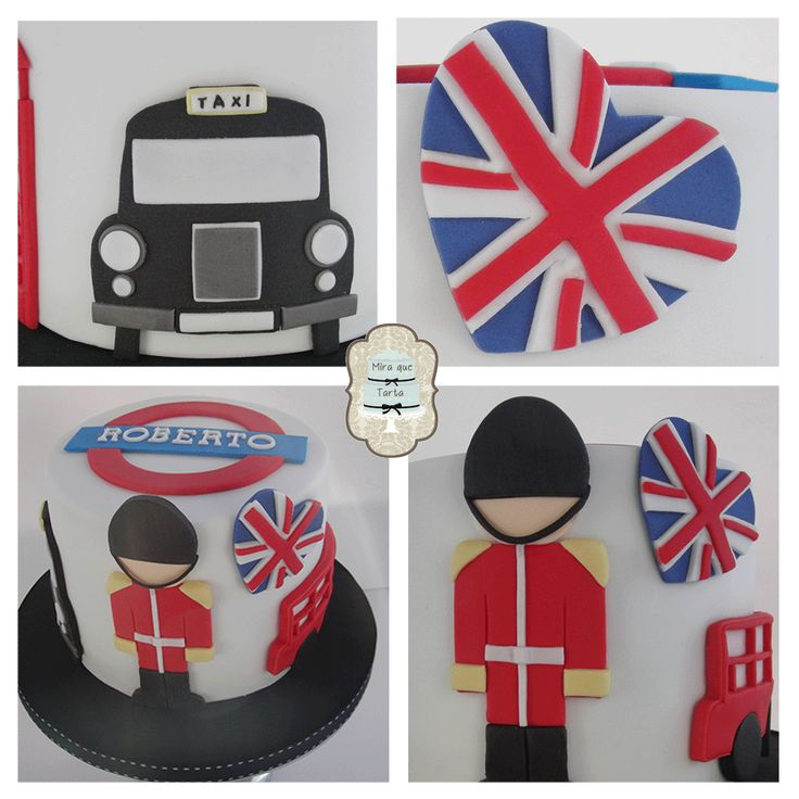 Tarta Londres. London Cake. #miraquetarta