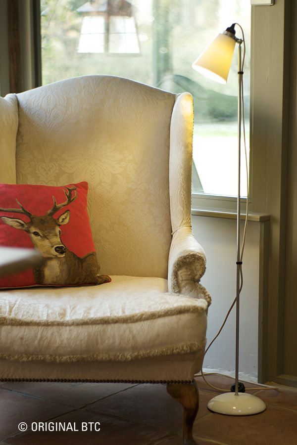 Settle into your favourite chair this weekend under the warm glow of our Hector Flowerpot Floor light.