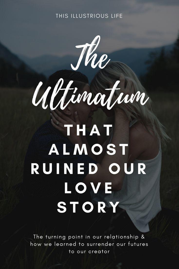 dating ultimatum