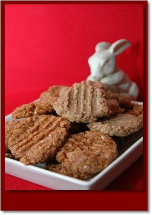 Beefy Bunny Bites Delicious beef flavored cookies for dogs!