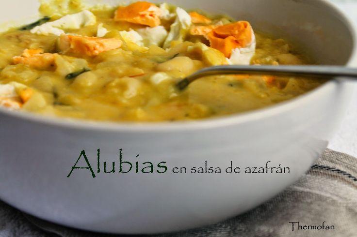 THERMOFAN: Alubias en salsa de azafrán (TMX / T)