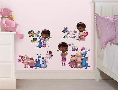 New Doc McStuffins Wall Decals Disney Bedroom Stickers Girls Toy Room Decor   eBay