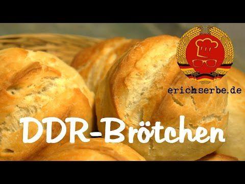 DDR-Brötchen (von: Bäcker Süpke) - Essen in der DDR: Koch- und Backrezepte für ostdeutsche Gerichte | Erichs kulinarisches Erbe