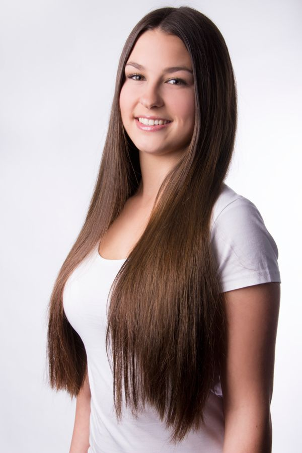 Luxury For Princess clip-in hair extensions #4: Chocolate ...