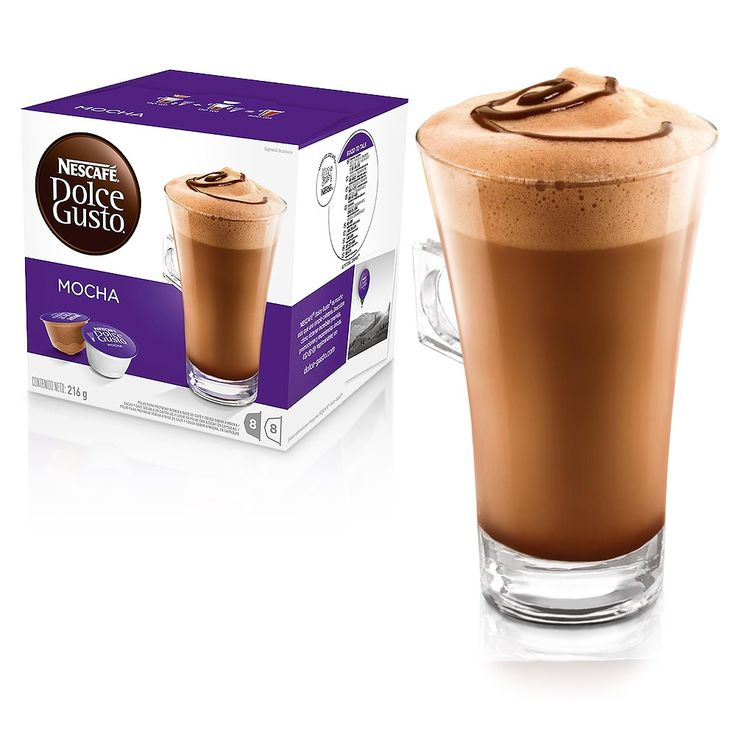 Mocha - Chocolate - Cápsulas | NESCAFÉ® Dolce Gusto®