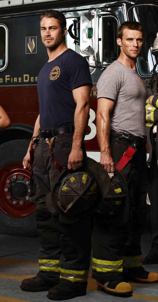 Chicago Fire ... It's eye candy, of course, but it just keeps getting better! :-)