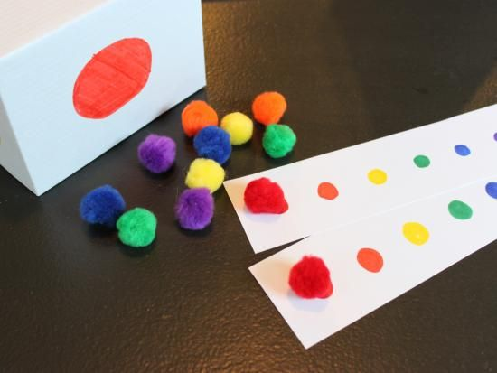 roll and color game - Toddler Color Games