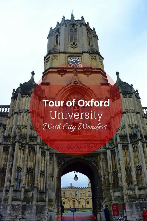 Best Private Tour of Oxford University