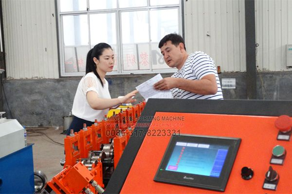 Liming Stamping Form Machine Co Ltd Is A Professional Manufature Of All Kinds Of Roll Foriming Machine Stud And Track Roll Forming Production Line Rolls
