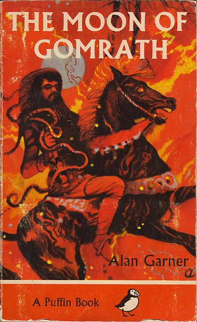 """The Moon Of Gomrath"" by Alan Garner. Cover illustration by George W. Adamson, 1965"