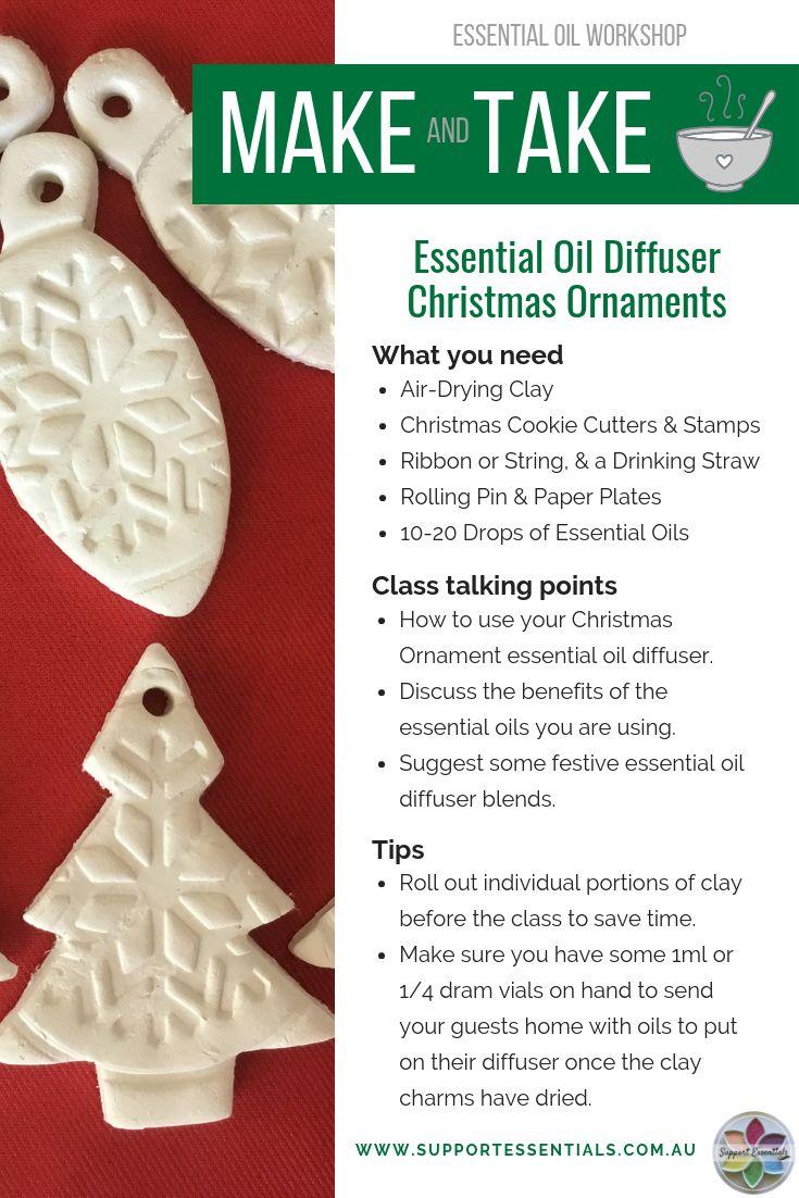 Essential Oil Diffuser Ornaments Essential Oil Creative Recipe Essential Oils Christmas Making Essential Oils Essential Oils Gifts