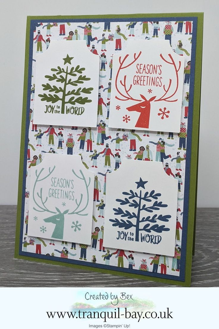 Stampin' Up! Everything Essential Card with Trimming the