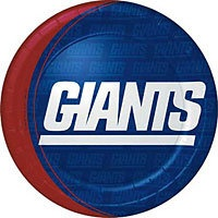 Giants plates! http://www.partycity.com/product/new+york+giants+party+supplies.do?sortby=ourPicks&size=all&from=Search&navSet=new+york+giants