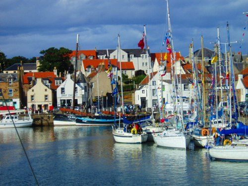 Anstruther, Scotland. best fish & chips shop in scotland