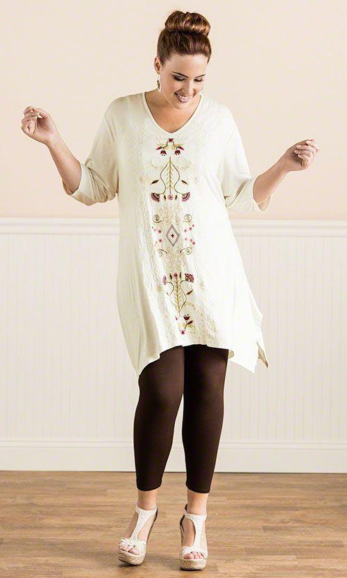 Azura Tunic / MiB Plus Size Fashion for Women / Summer Fashion / Caite Fashion http://www.makingitbig.com/product/5284