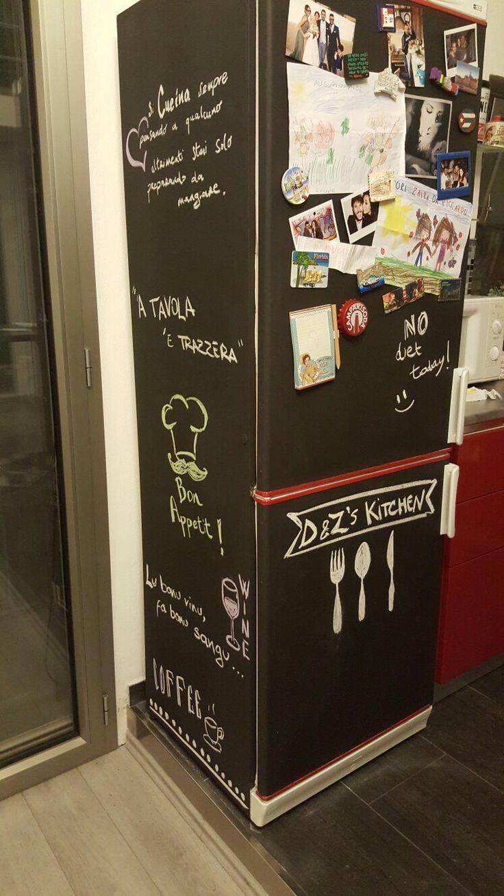 Lavagna frigo frigolavagna cucina kitchen refrigerator