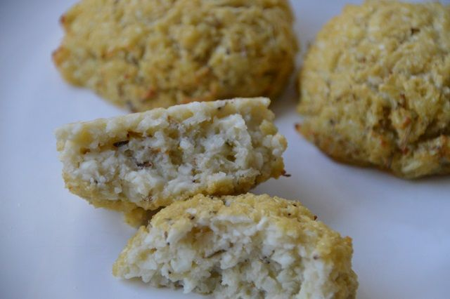 Paleo Bloemkool 'broodjes'