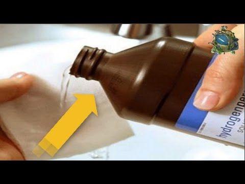Agua Oxigenada: esa maravilla olvidada / 15 increíbles usos del agua oxigenada /  oxygenated water. - YouTube