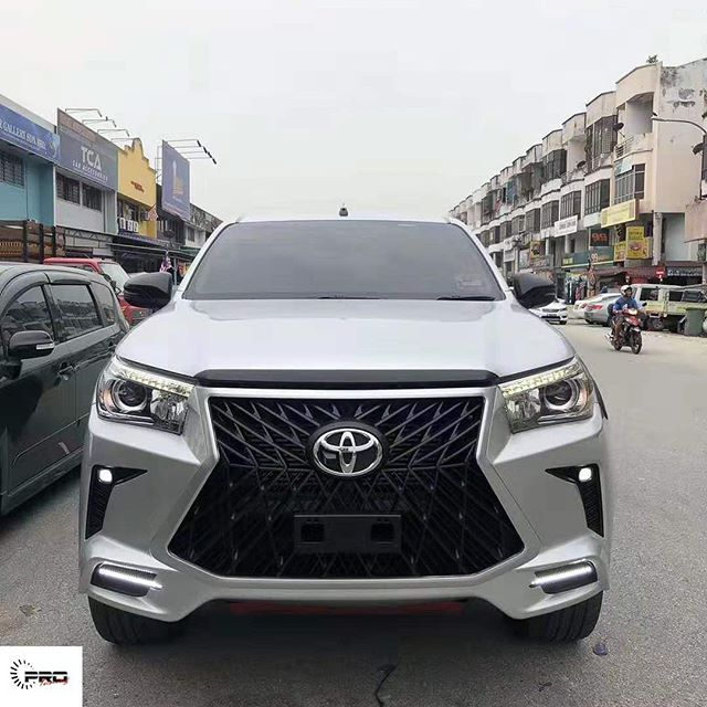 Toyota Hilux Front Bumper Upgrade To Lexus Style In 2020 Toyota Hilux Toyota Lexus