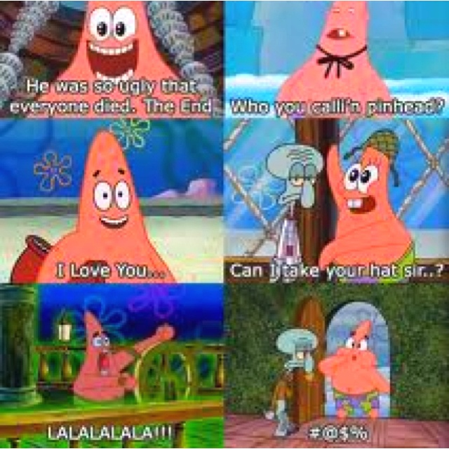 7065f7b8773a09f7f38bc79582535d7c spongebob memes spongebob squarepants best 25 patric star ideas on pinterest patrick star, patrick