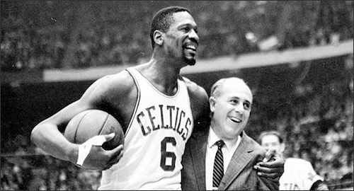 In 1966 Bill Russell became a player-coach, which made him the first ever African American coach in the NBA. He won 2 championships as a player-coach and is the only player to do so.